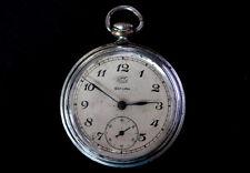 Reloj de bolsillo de Colección alemana Ruhla Saturn UMF viejo militar trabajando