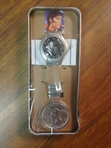 Elvis Presley Its Time The Wertheimer Collection Watch & A Great American Coin