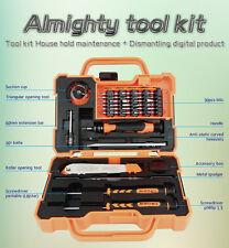 45 in 1 JM-8139 Screwdriver Set Repair Kit Opening Tools For Cellphone, laptops.