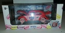M2 Machines 1952 VW BEETLE DELUXE Model PEZ CHASE 1 OF 500 1/24 scale