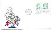 2178 17c Belva Ann Lockwood, Animated by Ellis, FDC