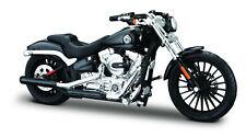 Harley-Davidson 2016 Breakout schwarz 1:18 Motorrad Modell die-cast model