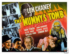 THE MUMMY'S TOMB LOBBY TITLE CARD POSTER 1942 LON CHANEY DICK FORAN ELYSE KNOX