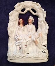 Staffordshire Antique English Pottery Figurine