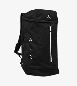 Nike Air Jordan Velocity Large Elite Basketball Backpack Duffel Bag - Black