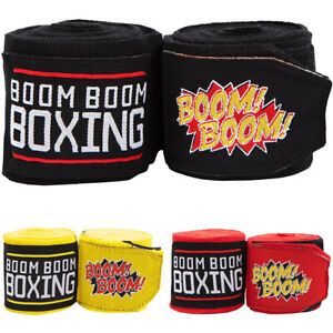 """Title Boxing Boom Boom 120"""" Flex Youth Boxing and MMA Handwraps"""