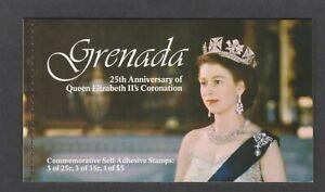 Grenada - 1978, Coronation Booklet - Self Adhesive - SG 950/2, SB2