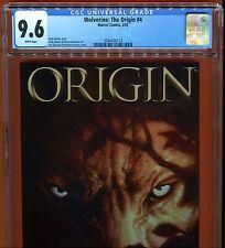 Wolverine: The Origin 4 (9.6 CGC) Origin of LOGAN Andy Kubert Art