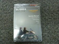 2001 2002 2003 2004 Honda GL1800 A Goldwing Motorcycle Service Repair Manual