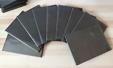 9 Used Slimline 7mm Black DVD Cases in Good condition