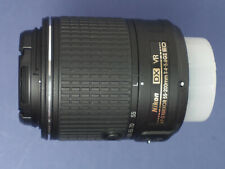 Nikon Nikkor AF-S DX Nikkor 55-200mm F/4-5.6G ED VR II Lens C/W Caps + Boxed