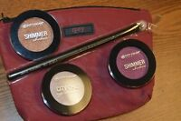 """3 City Color Shimmer Shadow Eyeshadow~ w/Luxie Brush and Ipsy Bag """"Best Deal"""""""