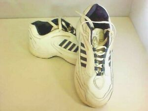 Rongguang Men's Casual Shoes Size 8 1/2 White Leather Lace Up China Pre Owned