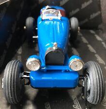 SCHUCO STUDIO IV blue Bugatti clockwork wind-up with tools MiB 01740 RARE