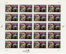 THORNTON WILDER STAMP SHEET -- USA #3134 32 CENT 1997