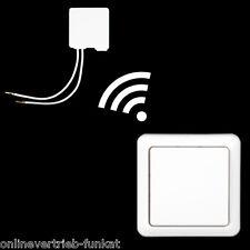 Funk  Einbaudimmer & Wandschalter , Mini Dimmer Schalter Funkschalter 433,92Mhz