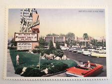 Vintage Las Vegas Sands Hotel Casino Postcard Sinatra