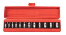 Tekton 12 Pc. 3/8'' Drive 12-Point Shallow Impact Socket Set SAE-WARRANTY 47911