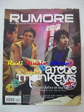 Rivista RUMORE 169/2006  Arctic Monkeys Belle & Sebastian Isobel Campbel NO cd*