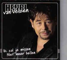 Henri Van Velzen-Ik Zal Je Missen cd single