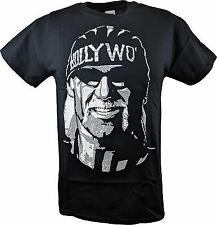 Hollywood Hulk Hogan nWo WCW White Face Mens T-shirt