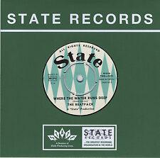 """THE BEATPACK Where The Water Runs Deep vinyl 7"""" + postcard NEW garage punk beat"""