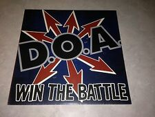 DOA Win the Battle Vinyl LP Record D.O.A. with Bif Naked! Sudden Death Punk NEW!