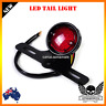 Motorcycle LED Retro Tail Brake Stop Light Lamp + License Plate Harley chopper
