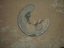 2002 Yamaha YFM Raptor 660 ATV Left Front Brake Guard (85/76)