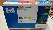 Genuine HP Q5952A Yellow Toner for Colour LJ 4700 Brand New See Photos 10k
