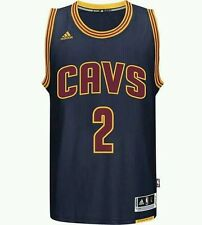 AUTHENTIC Kyrie Irving Cleveland Cavaliers NBA basketball jersey / vest blue S