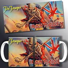 tazza mug music IRON MAIDEN the trooper, rock metal scodella ceramica