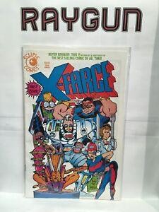 X-Farce #1 VF/NM 1st Print Eclipse Comics