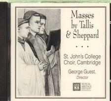 Tallis & Sheppard(CD Album)Masses-New