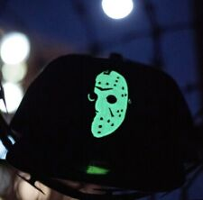 Hat Club Exclusive New Era Friday The 13th Jason Head Glow In the dark 7 1/4