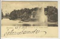 AK Dresden, Carolasee, Kgl. Grosser Garten