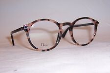 NEW CHRISTIAN DIOR EYEGLASSES ESSENCE 5 0T4 HAVANA PINK 49mm RX CD AUTHENTIC