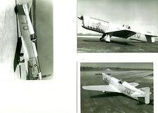 3 RIDER R-4 SCHOENFELDT FIRECRACKER 1929  RACING AIRPLANE PHOTOGRAPHS 8x10 B & W