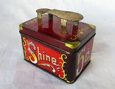 5C Mini Shoe Shine Tin  9.5 x 6.5 x 8.5cm