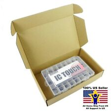 24value 400pcs Transistor and Diode Rectifier Box Kit US Seller KITB0072