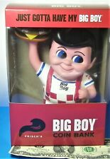 Frisch's, Bobs or Shoneys Big Boy Coin Bank with Hamburger BRAND NEW and Latest