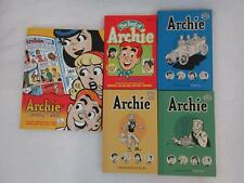 Lot of 5 ARCHIE Sunday Finest The Best of & Dark Horse Archives Vols 1-3