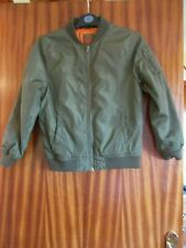 Primark Green Jacket Age 10-11 Years,Good Condition