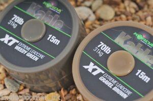 Korda Kable XT Extreme Leadcore 70lb Green / Brown