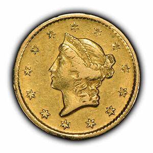 1849-O G$1 Liberty Head Gold Dollar - Type-1 - High-Grade Luster - SKU-Y2124