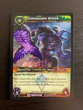 World of Warcraft WoW TCG Promo - Foil Commander Ulthok