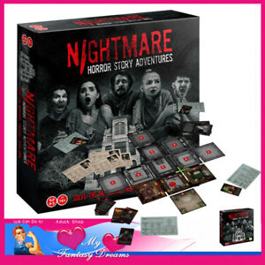 Nightmare Horror Stories Cluedo Type Scary Intelligent Adult Games Story Driven
