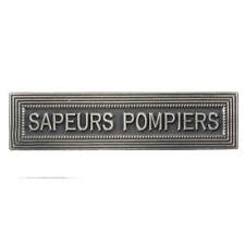 Agrafe pour médaille Ordonnance SAPEURS POMPIERS