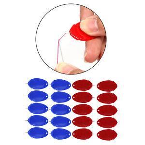 Kunststoff-Drahtschlaufen-Nadeleinfädler Für Hand- / Nähmaschine Rot Blau