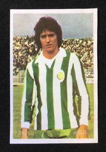RARE Sticker Card 1980 ✱ JORGE JESUS Coach BENFICA ✱ Portugal Football Team